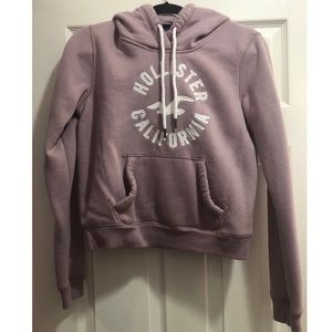 Light Purple Hoodie from Hollister